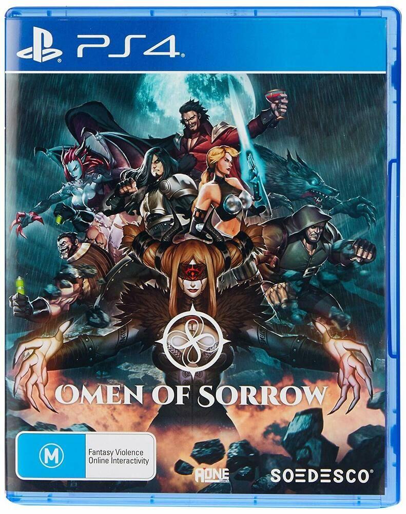 Omen Of Sorrow Sony PS4 Playstation 4 Fighting Battle GGPO