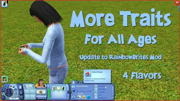 More Traits for All Ages by mikey - Sims 3 Downloads CC