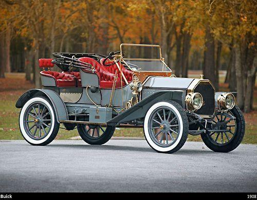 Buick 1908 – (Buick Motor Division Detroit, Michigan 1899-present)