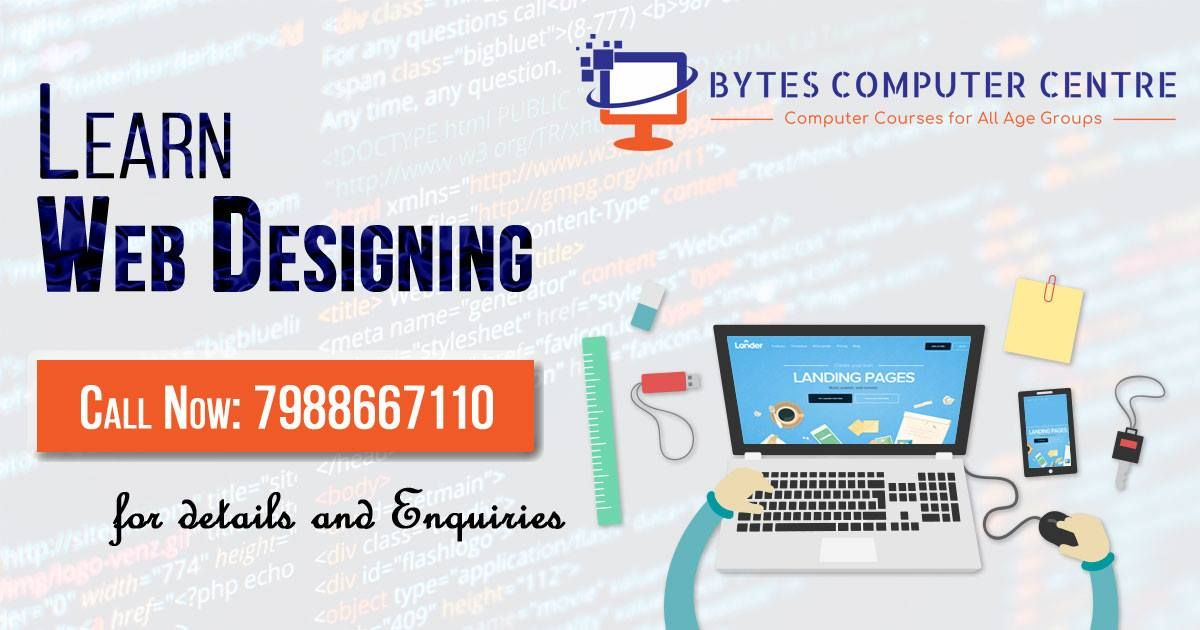 Learn Web Designing Graphics Designing From One Of The Best Institute In Ambala At Affordable Price Learn Web Design Web Design Training Web Design Course