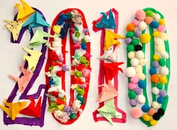 10 New Year's Eve Crafts for Kids!