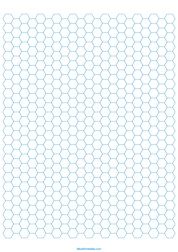 This is a graphic of Magic Printable Hexagon Grid