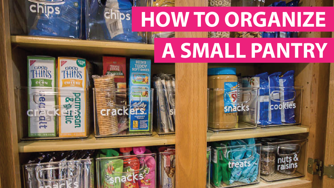 Organize A Small Pantry With The KonMari Method