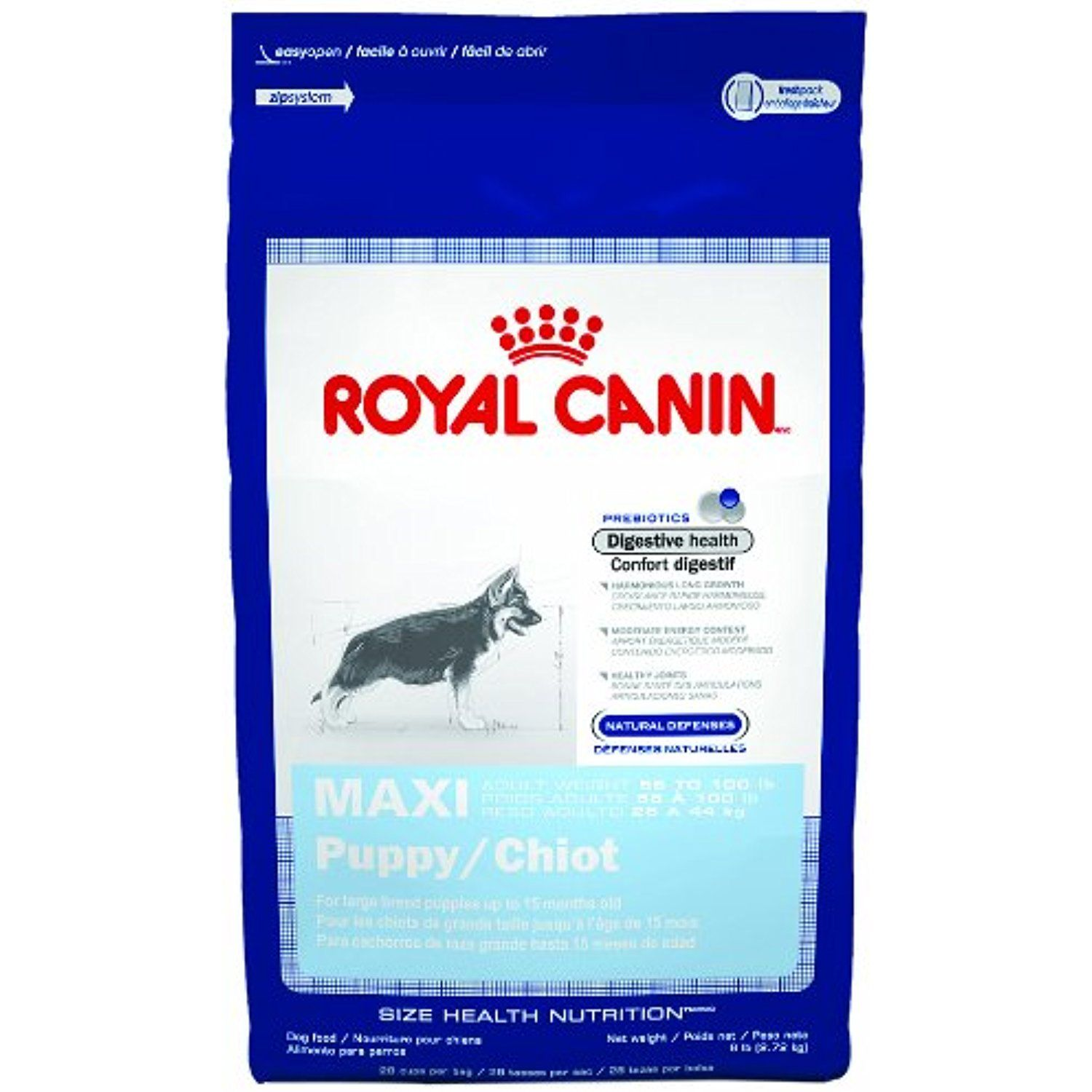 Royal Canin Maxi Puppy Dry Dog Food Formula 35 Pound Bag You