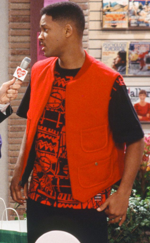 Cute Red Alert from Will Smith us Craziest Looks on The Fresh Prince of Bel Air