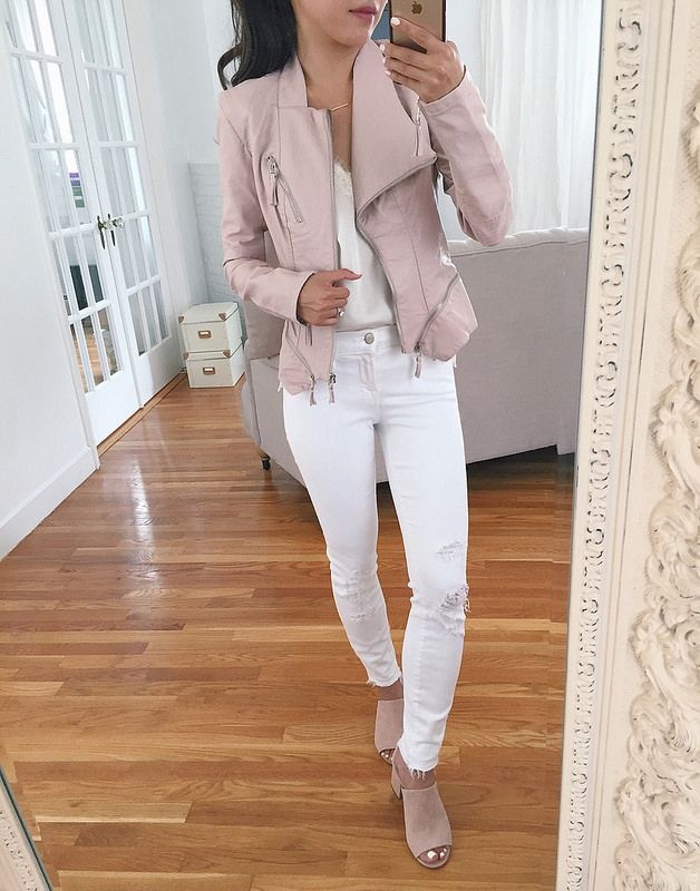 blank nyc moto jacket pink nordstrom sale petite fashion reviews 81265d6729d