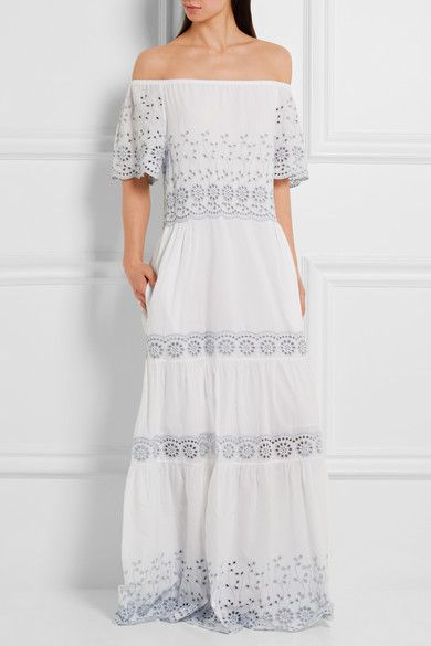 Broderie-anglaise cotton dress See By Chloé Prices Footlocker Pictures Online Original Cheap Price VcQYh6L