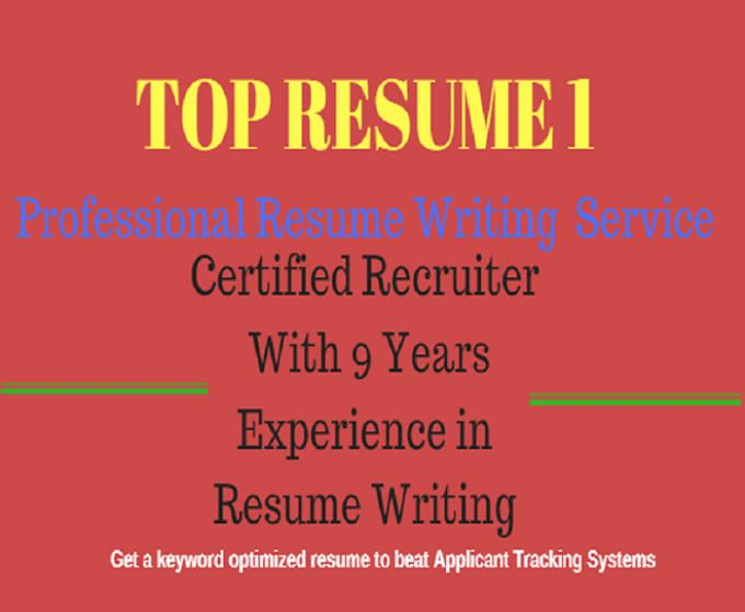 Write,rewrite and design a good ats resume, cover letter, writing - resume review service