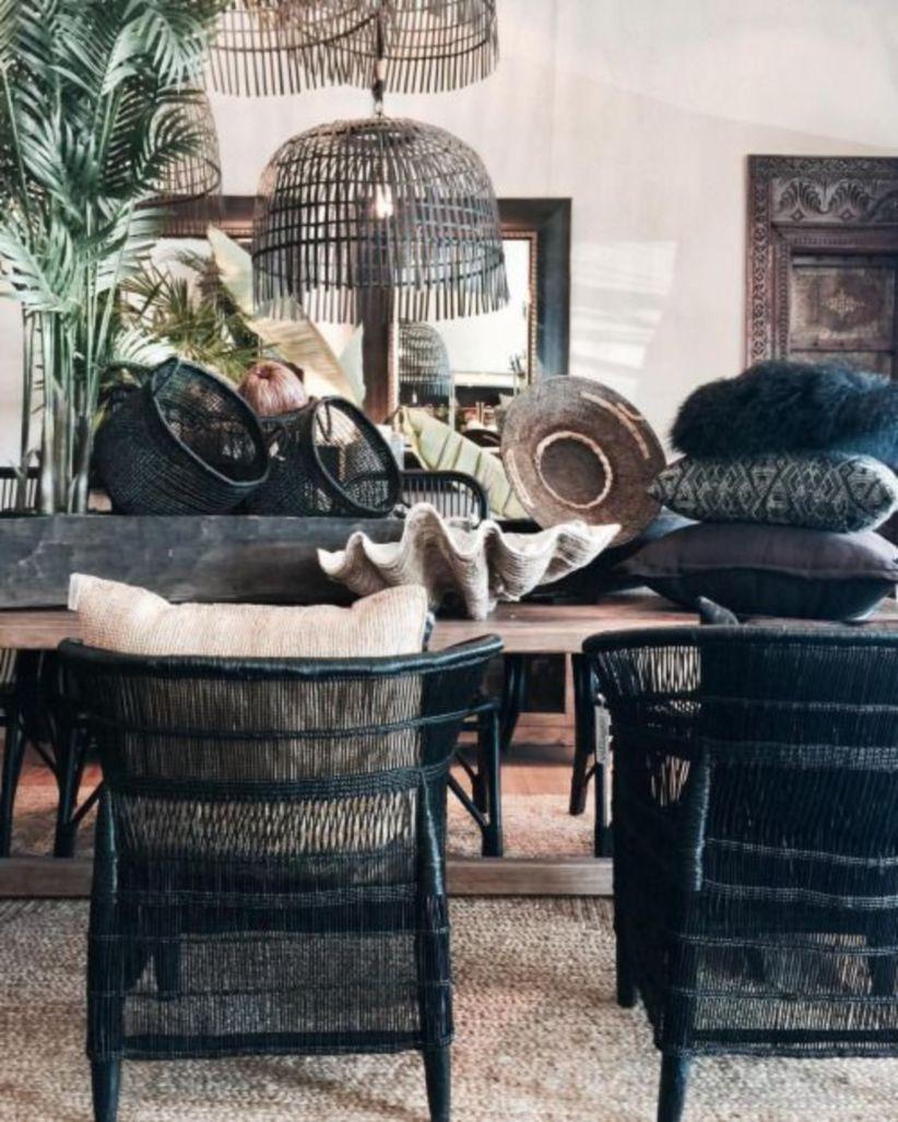53 Stunning Black Rattan Chair Design Ideas Bamboo Dining Chairs