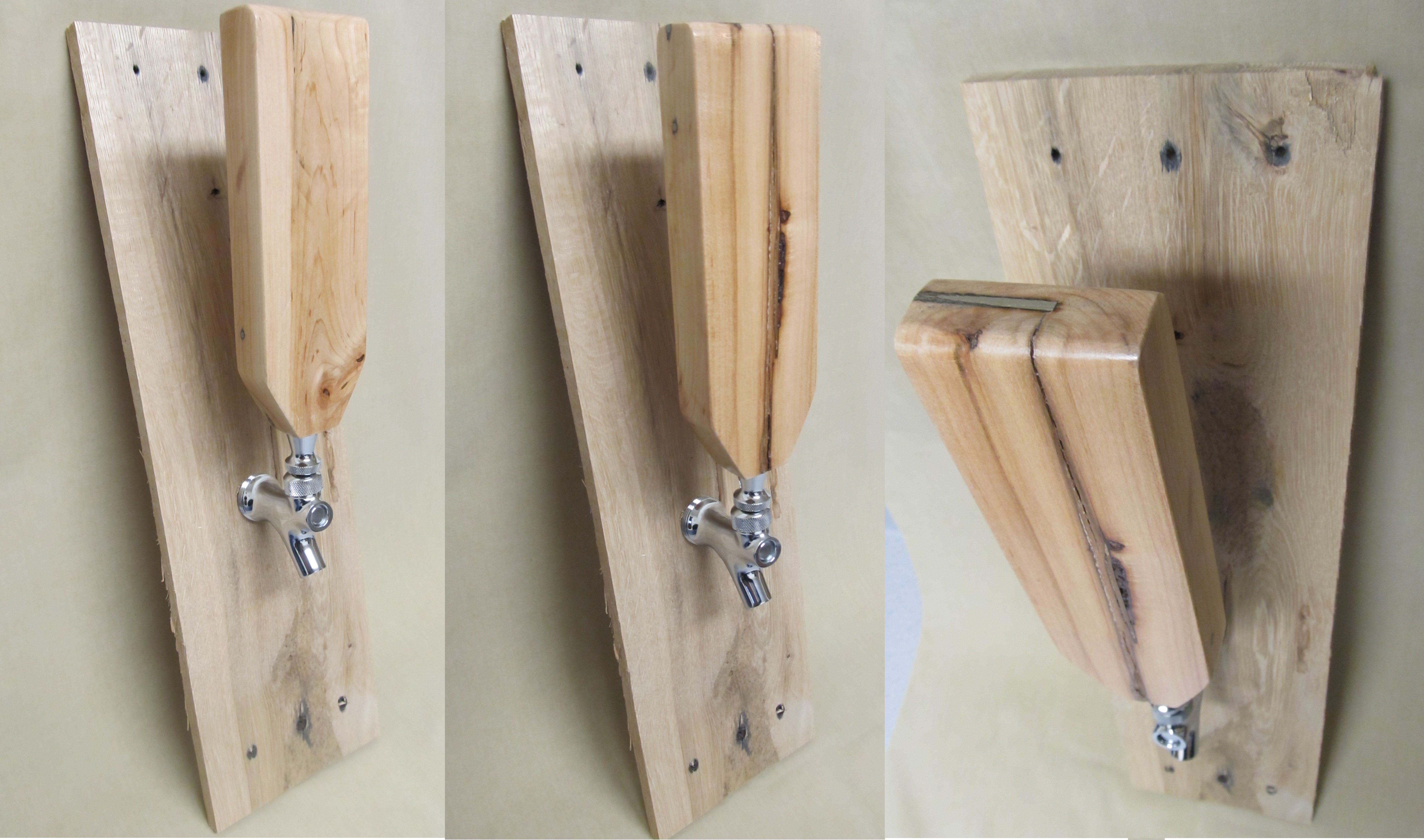 Order Now Beer Tap Handles From Recycled Pallet WoodMore