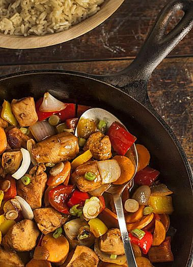 Frying in the rough? An understocked kitchen demands some imagination. Try our cabin stir fry.