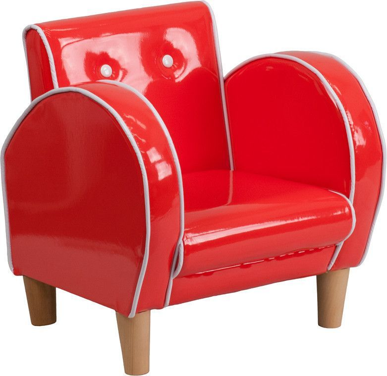 Flash Furniture HR-14-GG Kids Red Chair