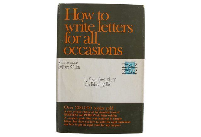 How to write letters for all occasions books to be read and how to write letters for all occasions books to be read and savored pinterest books expocarfo Image collections