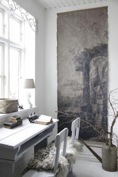 Foto Op Wand.Wand Foto Op Handgeschept Papier Gray Odds Ends Pinterest