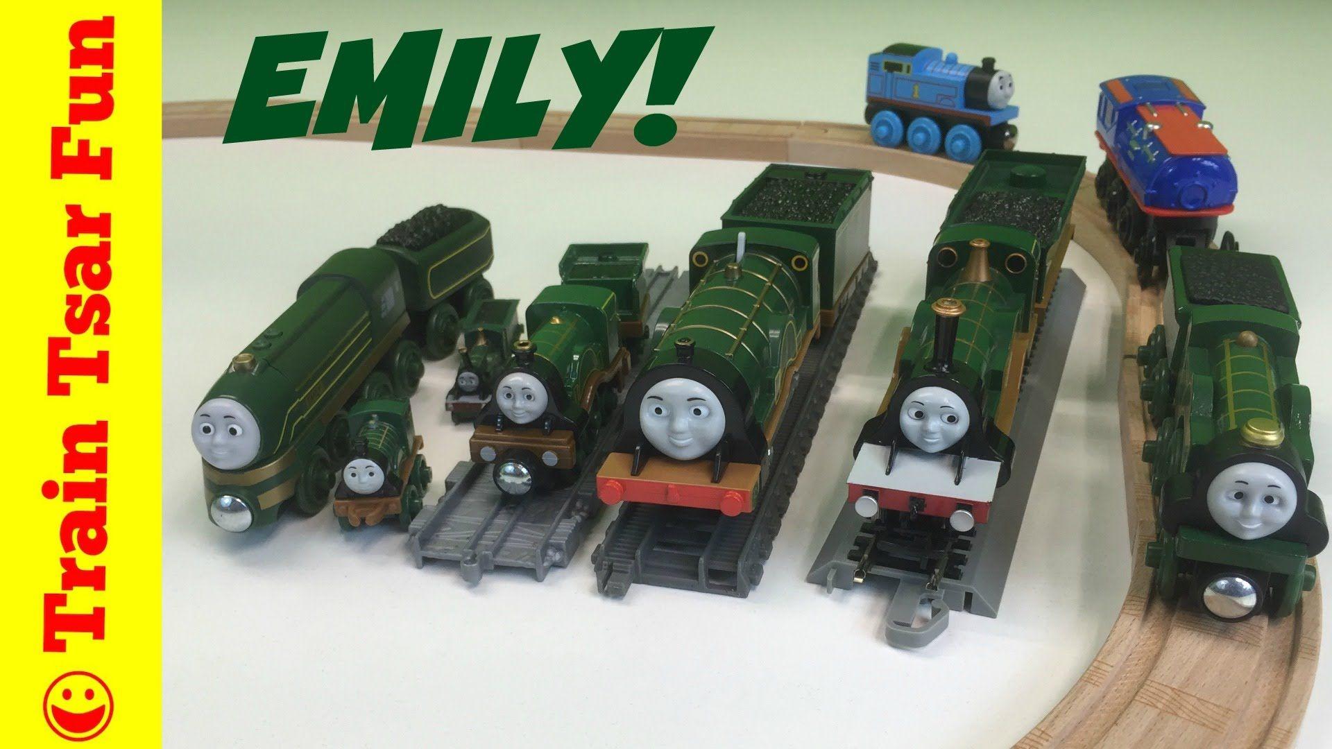 Emily Locomotive Collection Thomas Friends Trains Streamlined Emily Thomas And Friends Thomas And Friends Trains Thomas The Tank Engine