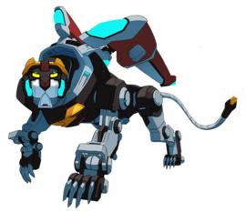 Black Lion Legendary Defender Mecha And Giant Robots Shiro