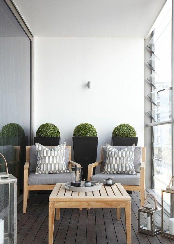50 ideen wie man die kleine terrasse gestalten kann terrasse dekorieren kleine terrasse und. Black Bedroom Furniture Sets. Home Design Ideas