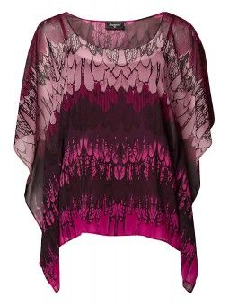 'Alycia' Feather Print Top - Maternity Friendly $49.99