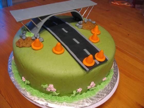 Bridge / Construction Cake