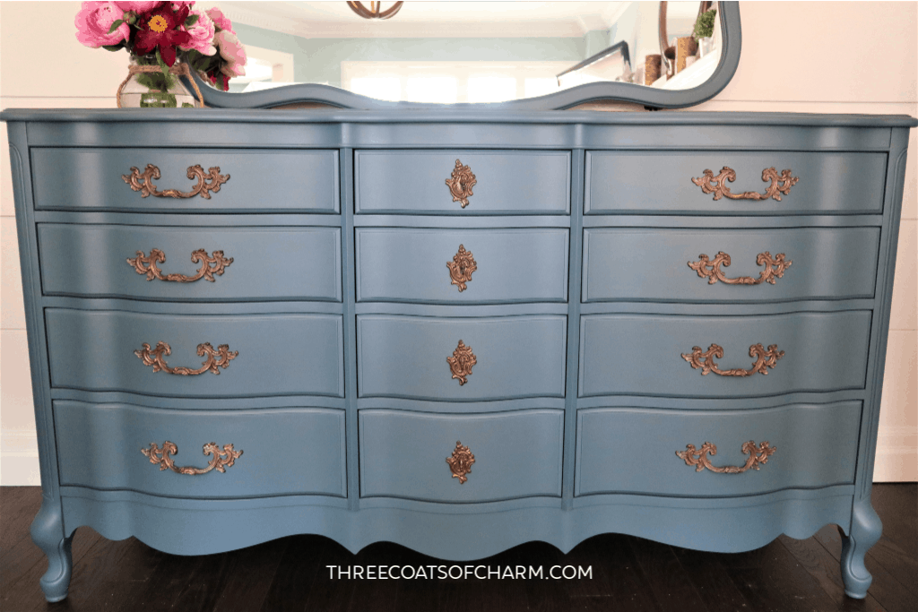 Malcolm French provincial dresser painted in Fusion's