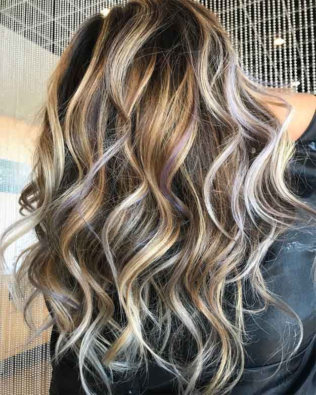 10 Bombshell Blonde Highlights On Brown Hair Layers Pinterest