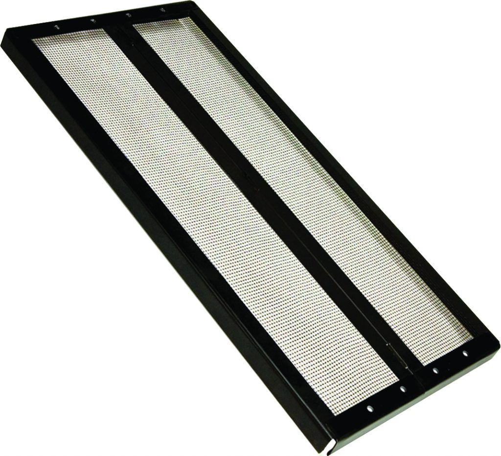 Fresh Air Screen Cover With Center Hinge Reptile