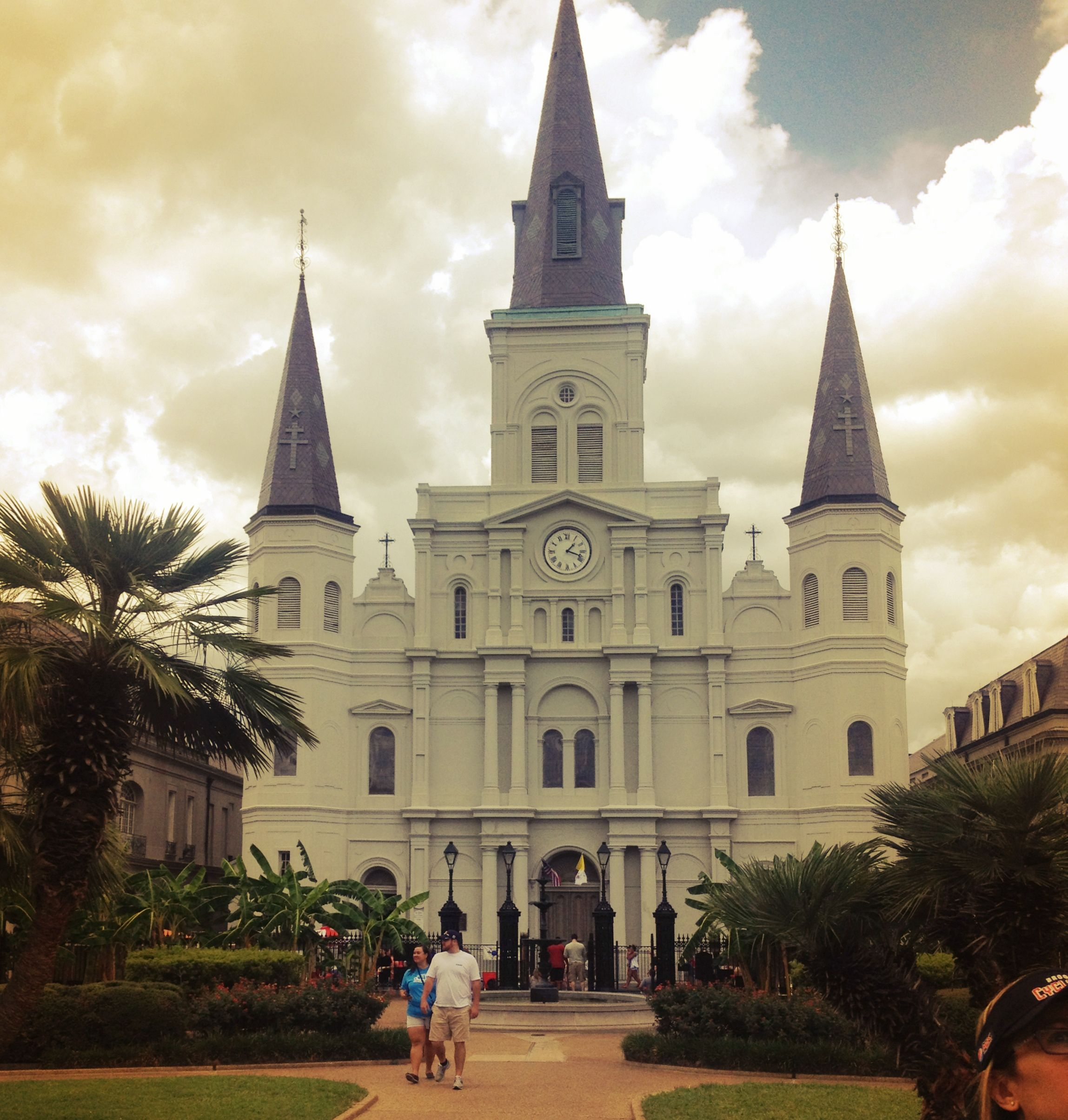 St Louis Cathedral, New Orleans Cathedral, St louis
