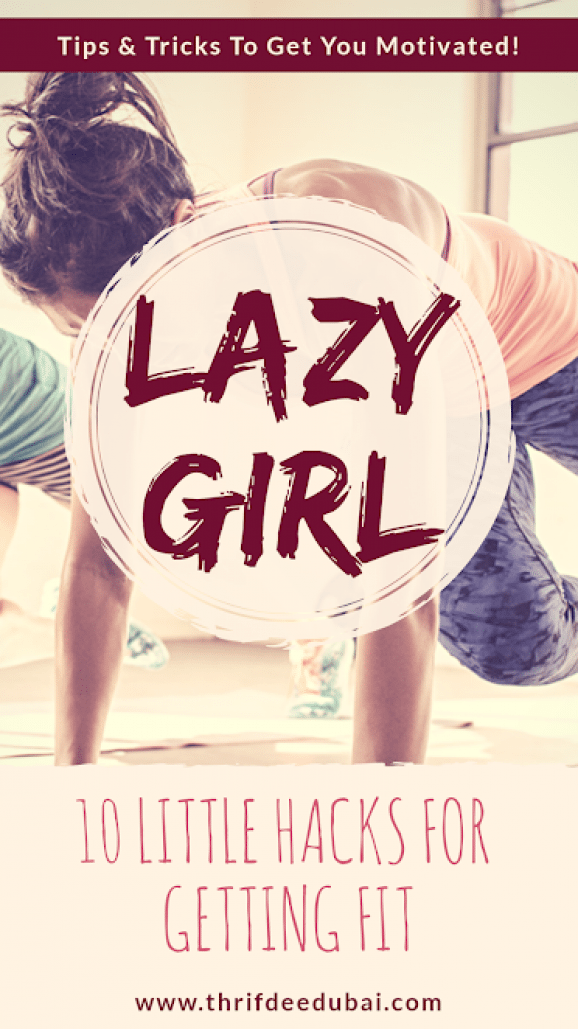 10 Ways To Get Fit - The Lazy Girl Way. Little hacks to get even the laziest girl motivated! . . . ....