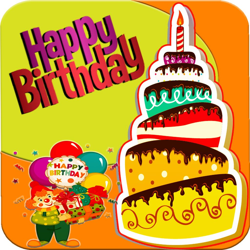 Birthday Card Maker Cards Games App Icon Game Bday