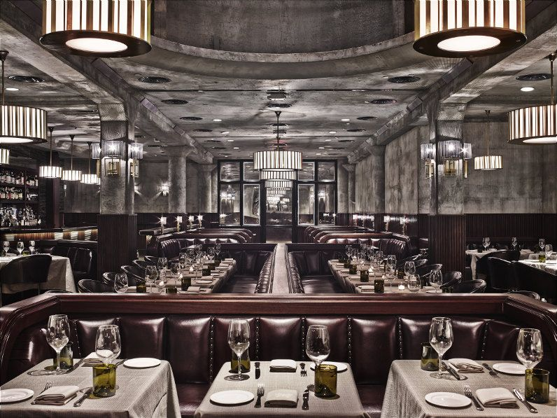 Meatpacking District Restaurant The Monarch Room Brings Luxurious 1920s  Club Room Feel To New York Nice Look