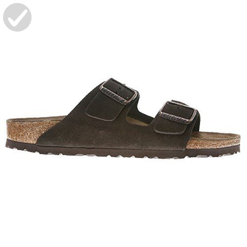 "Birkenstock ""Arizona"" Suede Leather Mocca - Unisex Adult Sandals (46.0 N) - All about women (*Amazon Partner-Link)"