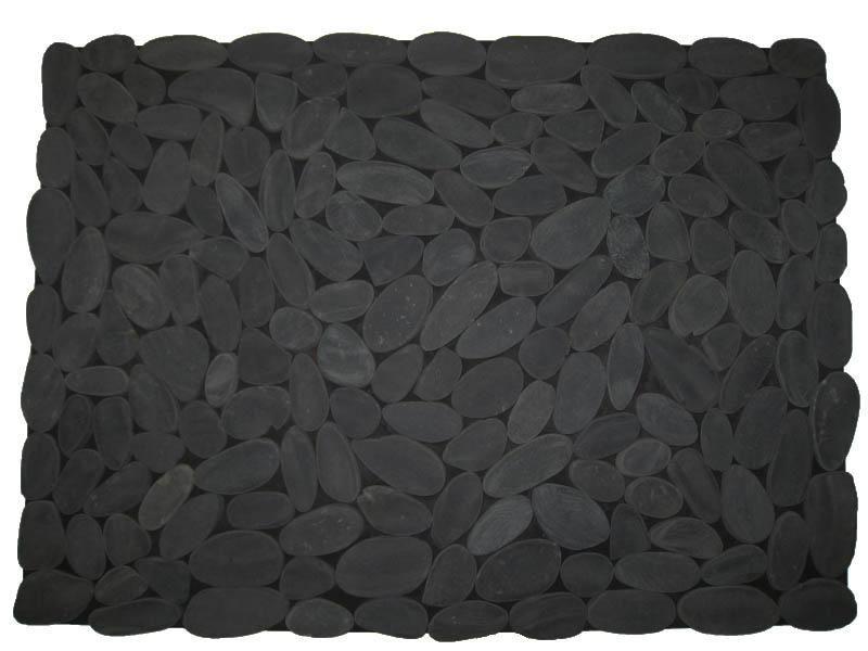 Tapis de sol en galets noirs, Originaaaaal! #LeGuide #Tapis - Sol Teck Salle De Bain