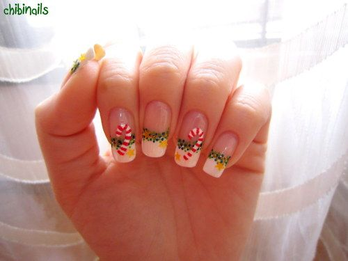34 striped christmas nail art designs candy cane nails candy 34 striped christmas nail art designs prinsesfo Gallery