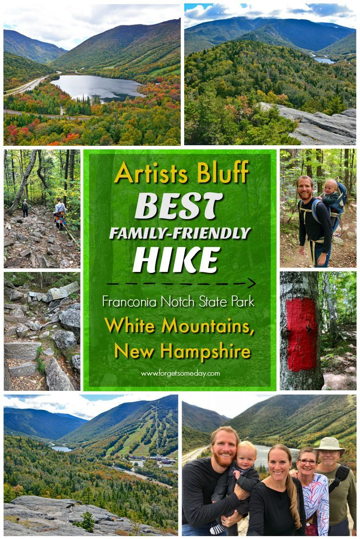 Easy Hikes in the White Mountains New Hampshire White