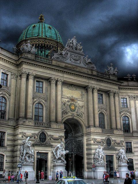 Stormy Skies in Vienna, Austria