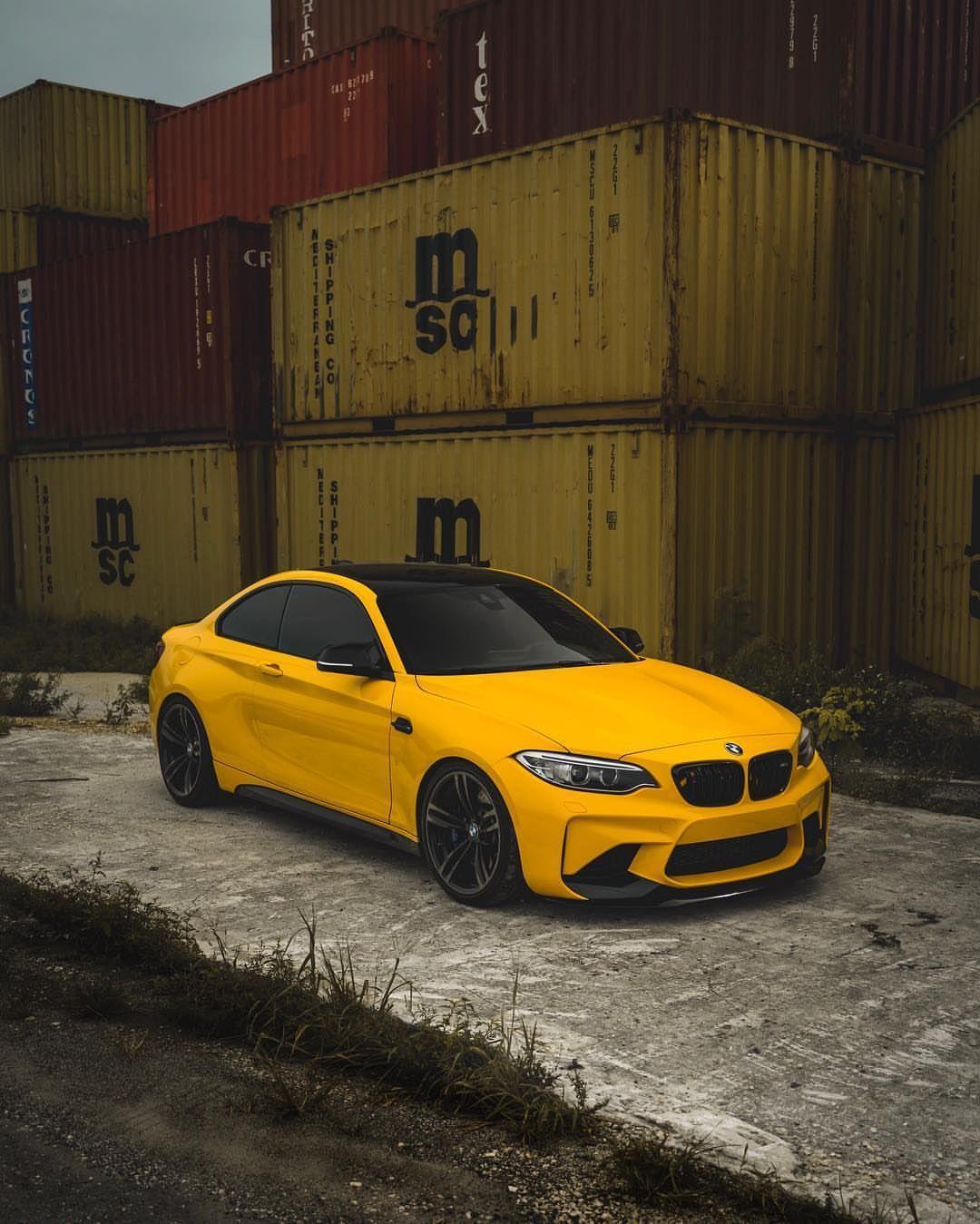 BMW F87 M2 yellow | Bmw, Bmw m4, Bmw classic