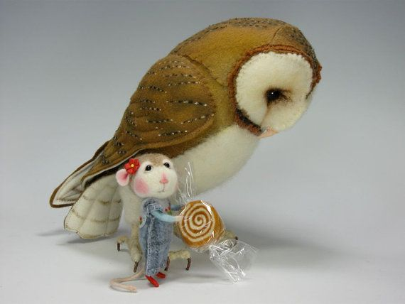 Just love the owl......