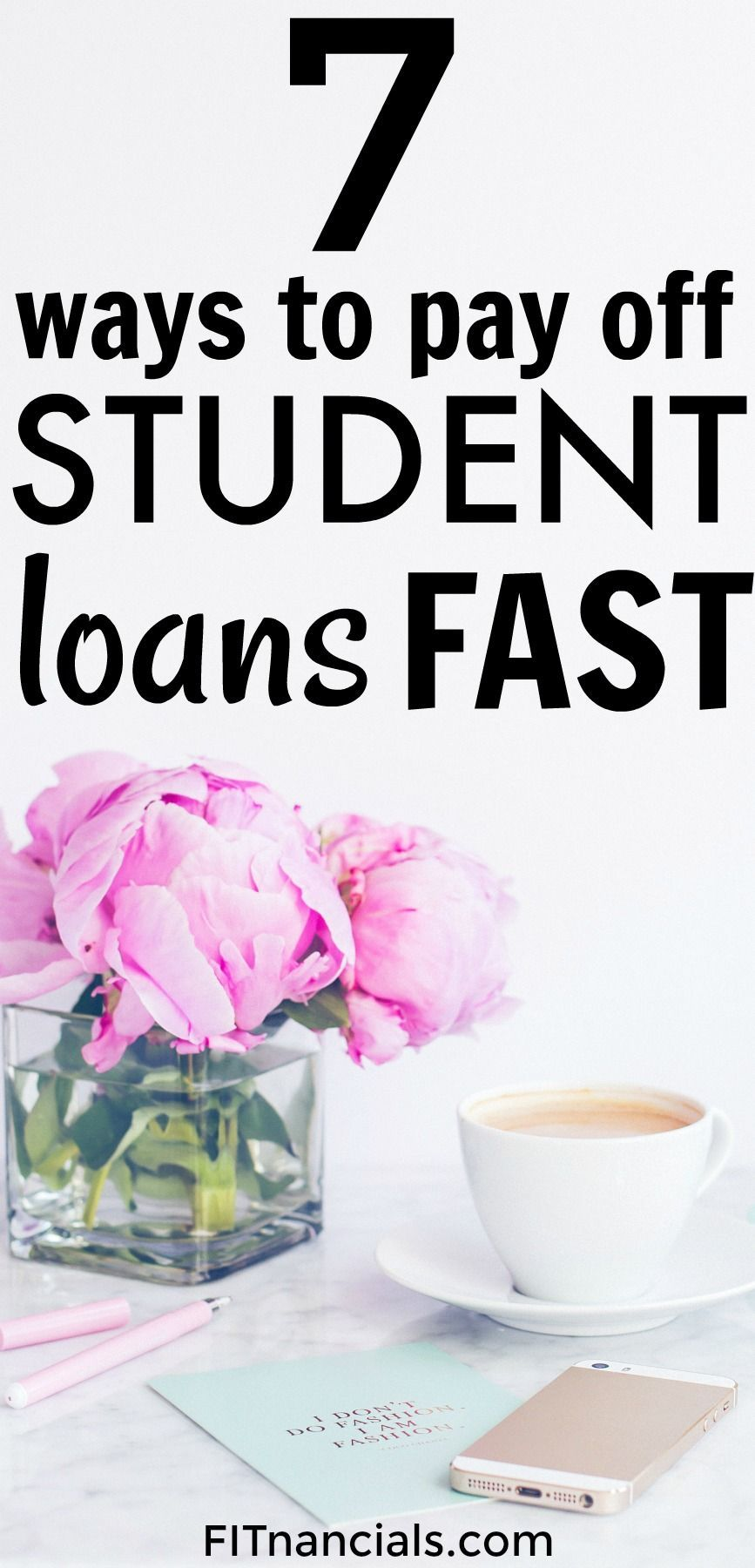 Check out this list on how to pay off student loans quick