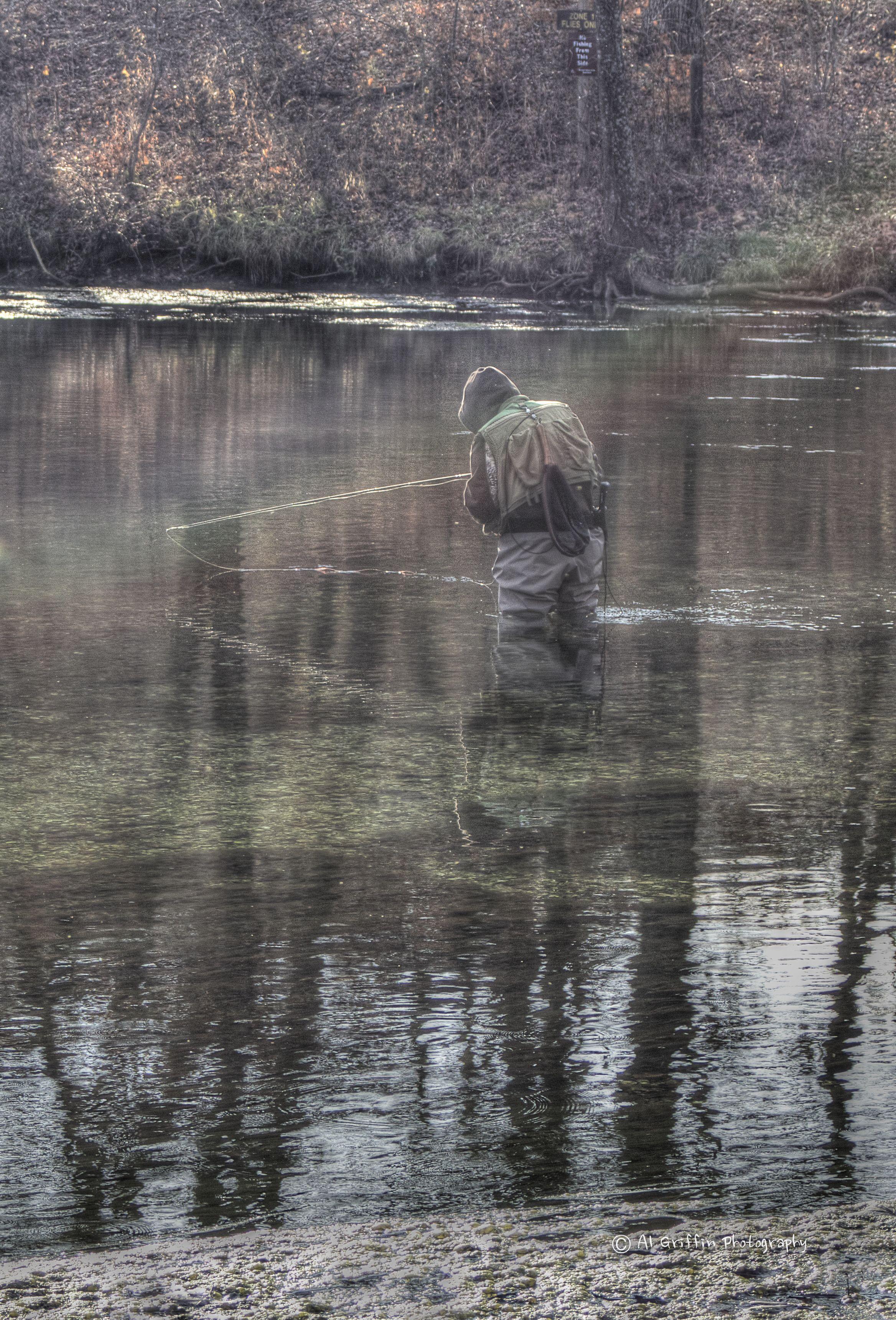 Trout fishing stream bennett springs state park west of for Bennett springs trout fishing