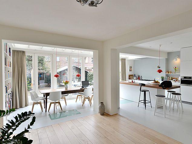 Aanbouw Open Keuken : Luxe aanbouw met architect het ontwerp van een aanbouw extend