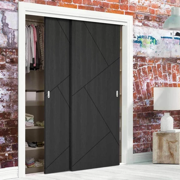 Minimalist Sliding Wardrobe Doors Garderobe Ontwerp Kast