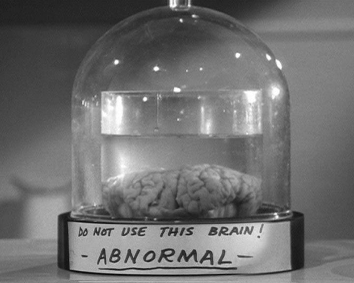 Image result for image of frankenstein's brain in a jar