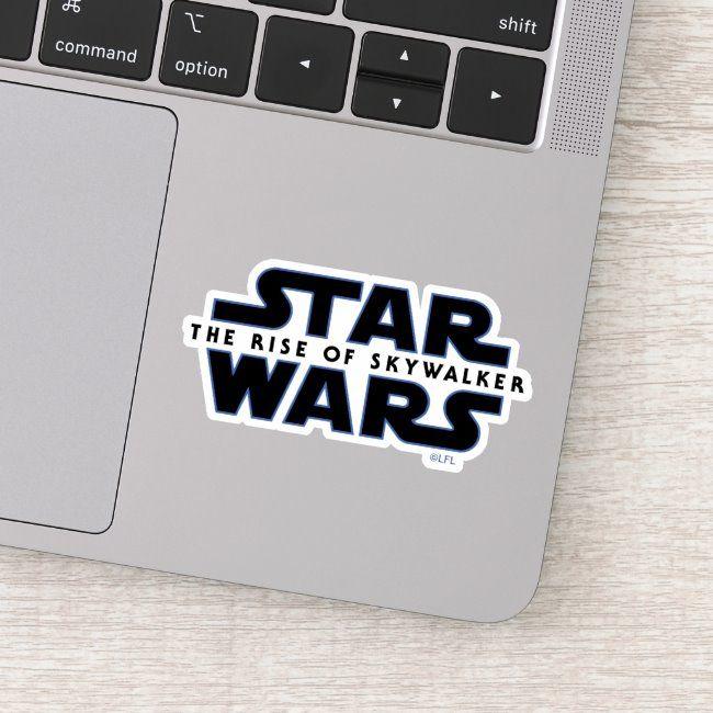 Star Wars The Rise of Skywalker Logo Sticker