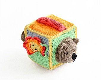 Didactic Book in 2020   Crochet, Kids crochet pattern ...