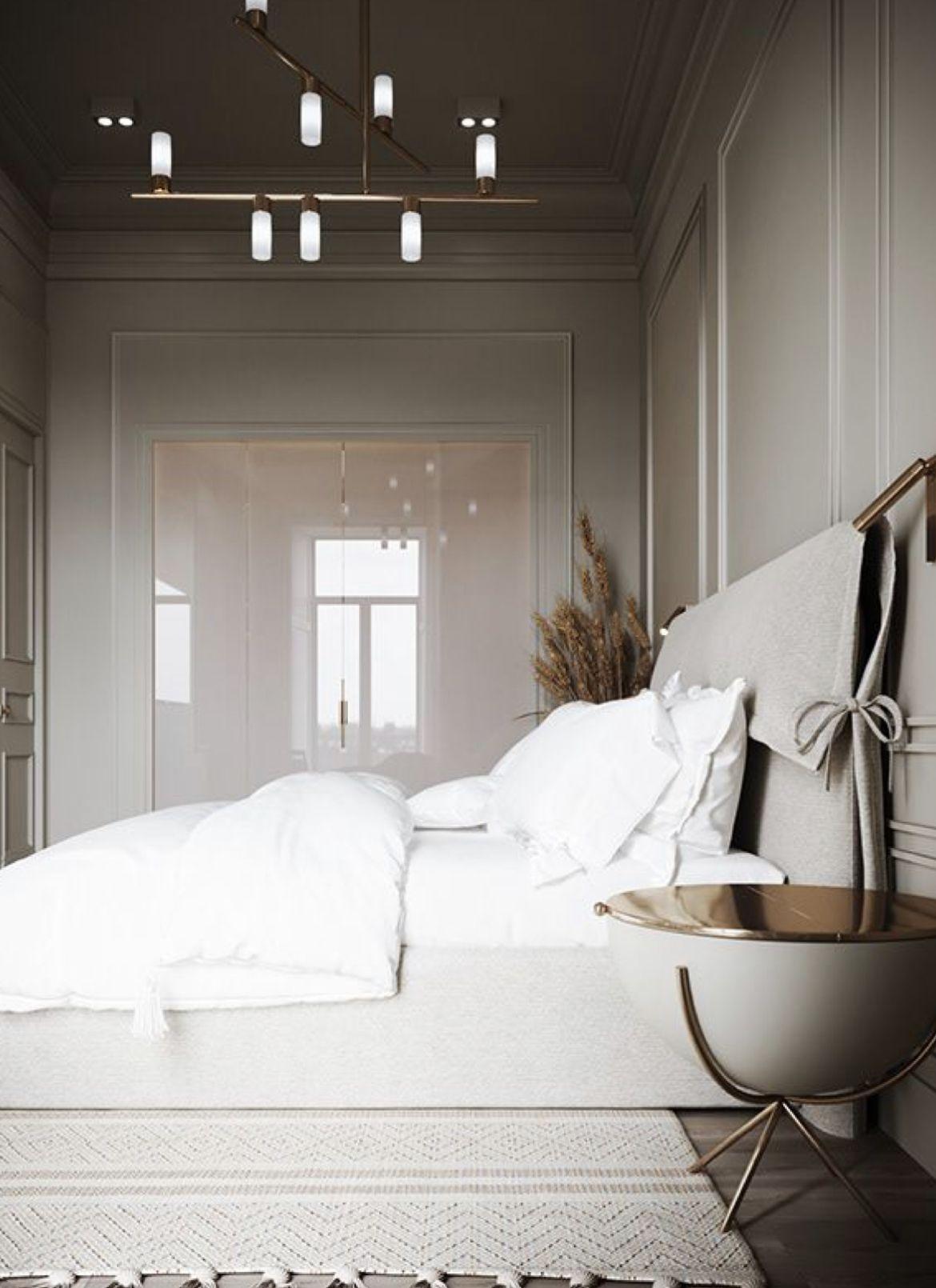 P A N E L B E D Bedroom Interior House Interior Luxurious Bedrooms
