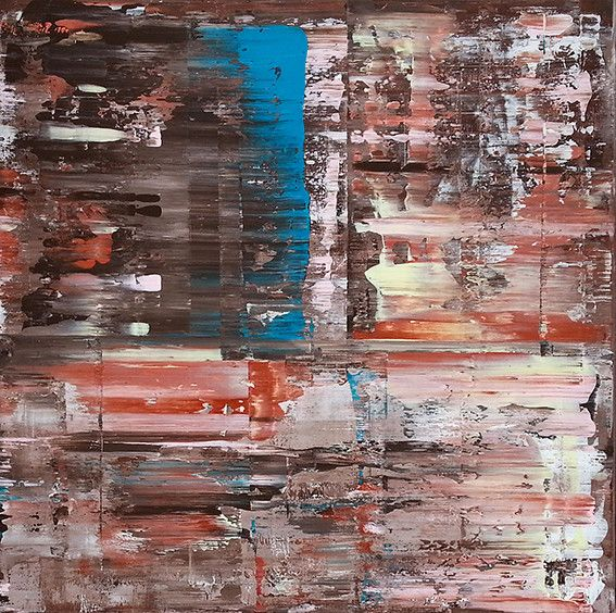 Wetlands - Peinture,  80x80x4,5 cm ©2016 par Mirghawameddin -   …