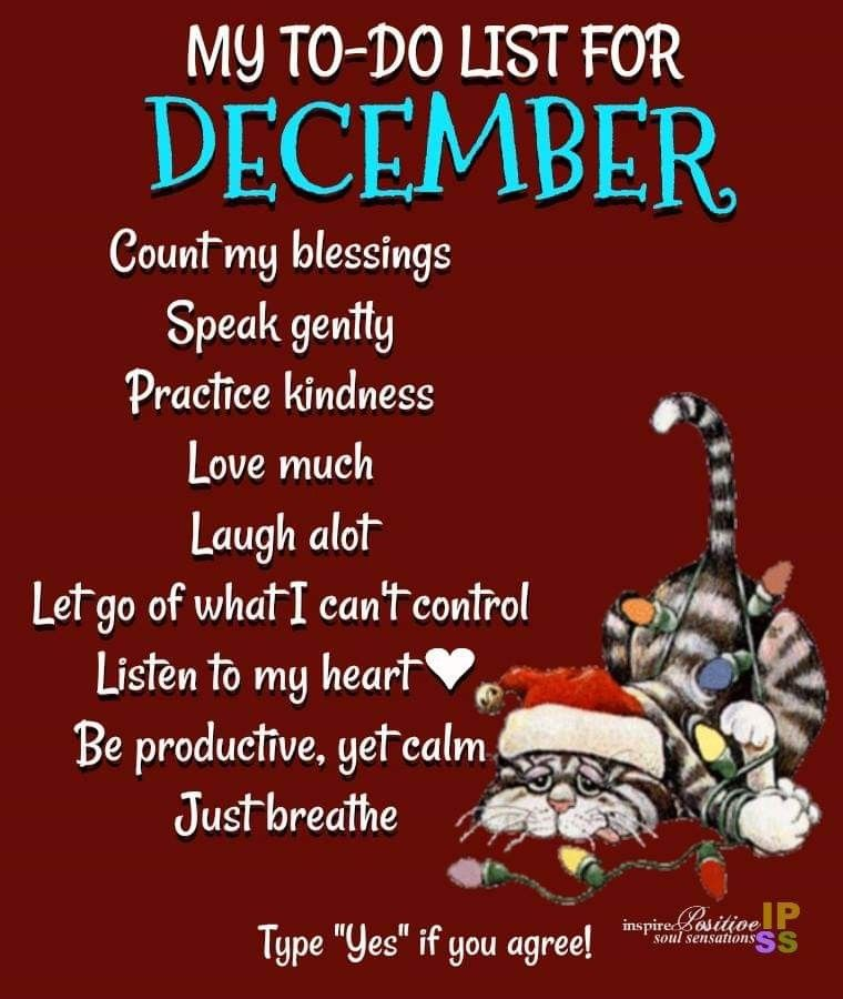 December | POSITIVE THOUGHTS | Good morning quotes ...