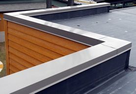 Perimeter Edge Metals American Architectural Metal Manufacturers Inc Flat Roof House Designs House Extension Design Roof Design