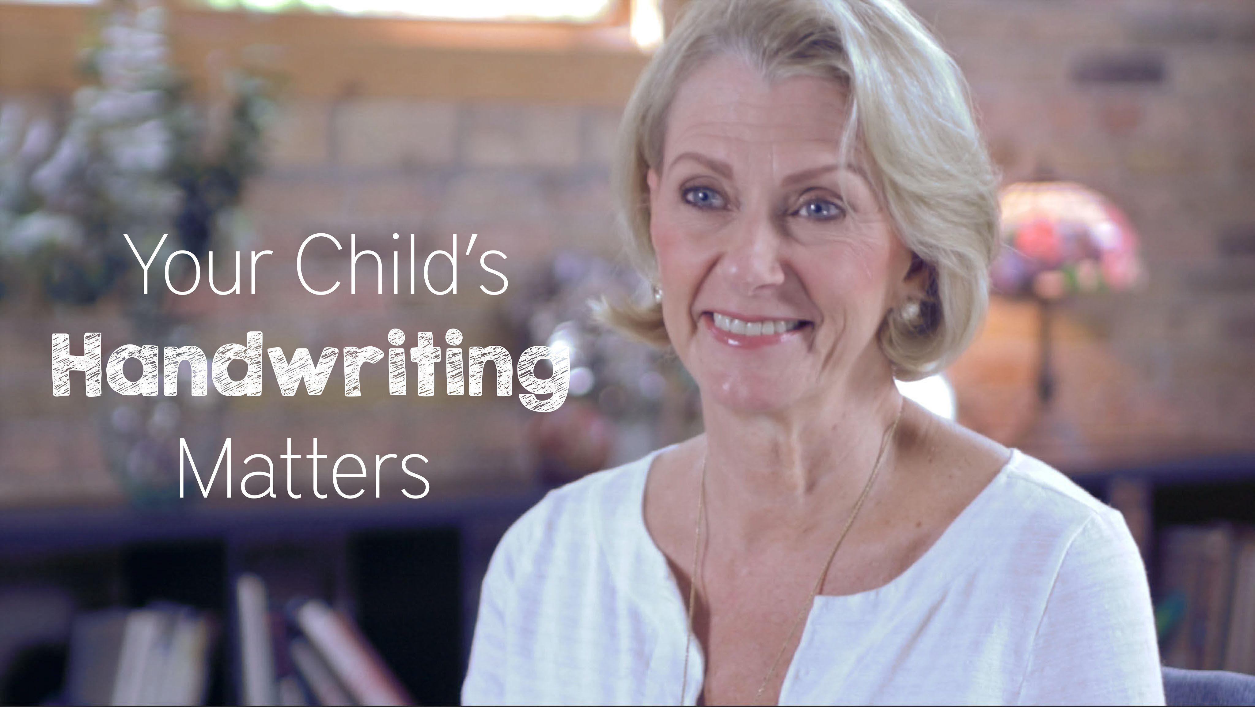 Your Child S Handwriting Matters