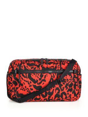 Alexander Mcqueen Printed Tech Crossbody Bag In Na Modesens Black Cross Body Bag Crossbody Bag Bags